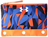 Under Armour Boys' Pencil Case, Mako Blue/Magma Orange, One Size