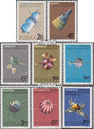 Poland 1730-1737 (Complete Issue) 1966 Space (Stamps for Collectors) Space