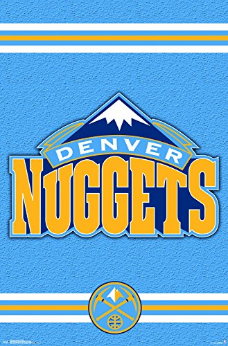 Trends International Denver Nuggets-Logo 14 Premium Wall Poster, 22.375