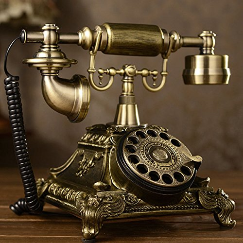 French Style Phone - Antique Rotary Phone French Style Vintage Old Fashioned Princess Telephone USA