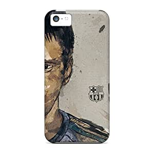 Lionel Messi Durable Back Cases/covers For Iphone - 5c For Girls And Boys