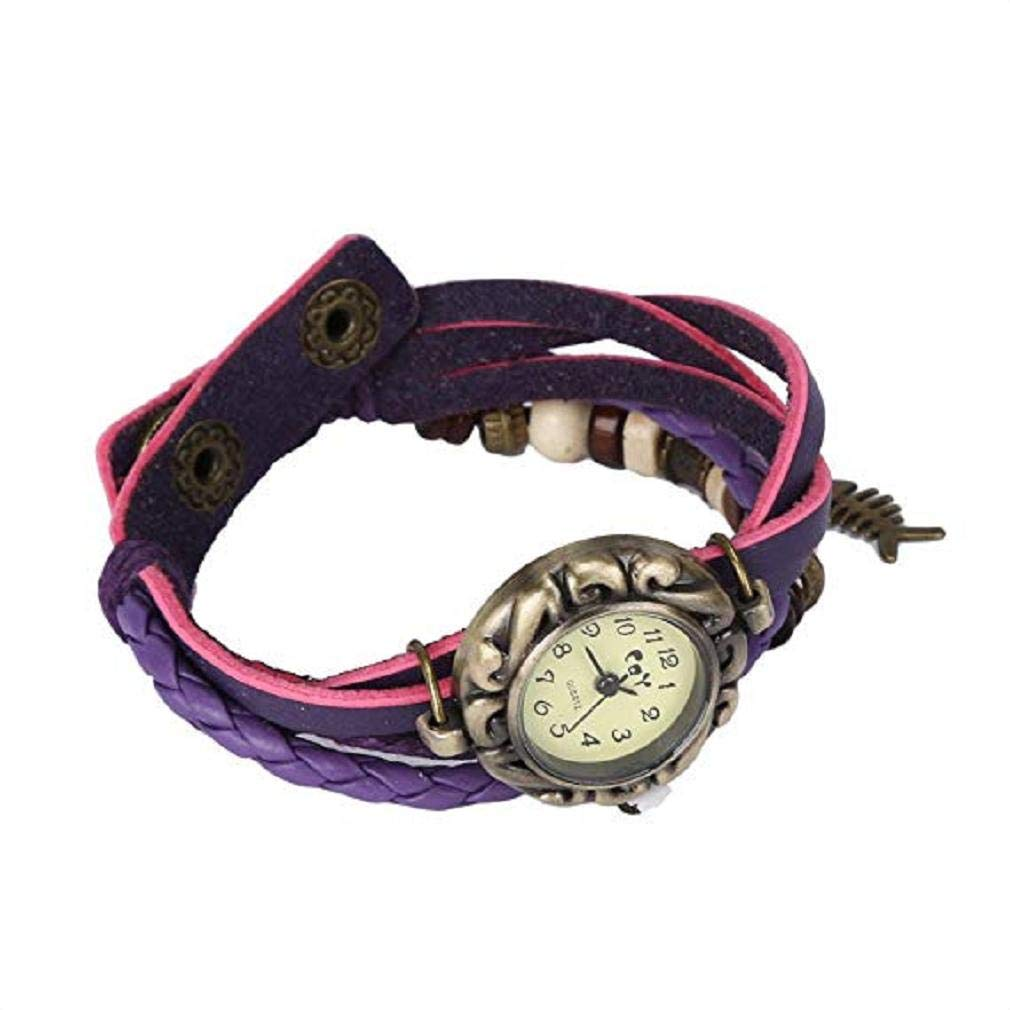 Fashion Clearance Watch! Noopvan Womens Bracelet Watches on Sale Lady Watches Female Watches Cheap Watches for Women-Q4 (Purple) - - Amazon.com