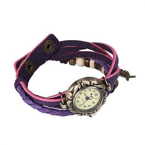 Noopvan Womens Bracelet Watches on Sale Lady Watches Female Watches Cheap Watches for Women-Q4 (Purple) - - Amazon.com