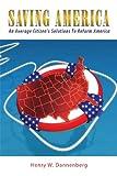 Saving Americ, Henry W. Dannenberg, 1438965613