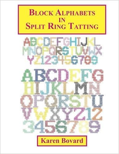 Book Block Alphabets in Split Ring Tatting (Volume 3)