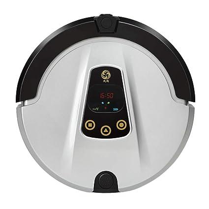 DOLPHINEGG Smart Robot Aspirador con cámara WiFi App controló aspiradora para el hogar Barrer el Polvo