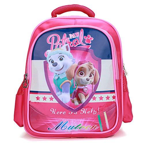 FairyShe Paw Patrol Kids Backpack,Toddler Preschool Backpack,Cartoon Waterproof Large Capacity Backpack for Boys