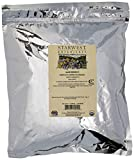 Starwest Botanicals Organic Egyptian Hibiscus Flowers Tea Loose Cut and Sifted, 1 Pound Bulk (Pack of 2)