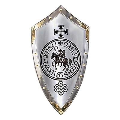 Armor Venue - Marto of Spain Knights Templar Medieval Shield Metallic One Size