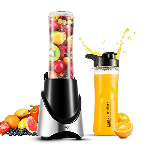 Blender aqv personal juicers stainless mixer with two 20 for Kitchen perfected blender