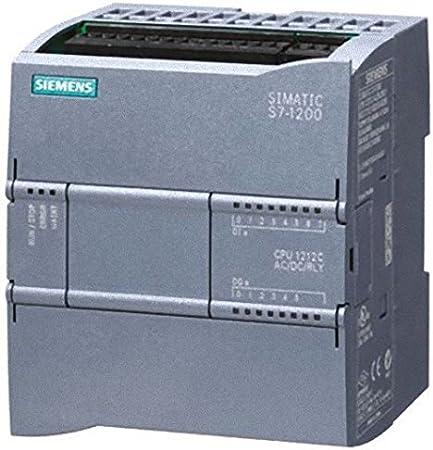 Siemens st70-1200 - Cpu 1212 contactos ac/dc/rele e/s 8 ed 24v 6sd