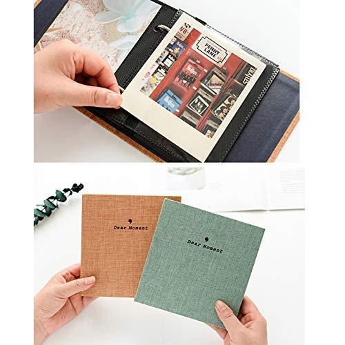 Cpano 50 tasche Album per Fujifilm Instax Wide 200 Width 210 FP100C FP 3000B Film e 5 pollici Image Width 300