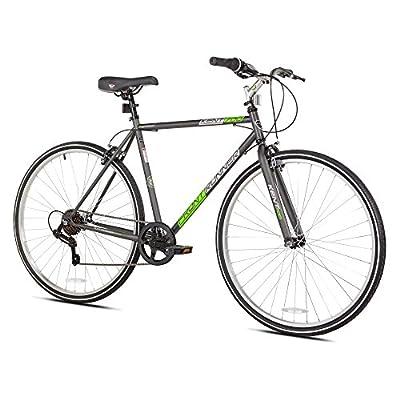 """Kent Front Runner Hybrid Bike, White, 21.25""""/One Size"""