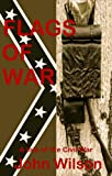 Front cover for the book The Flags of War by John Wilson