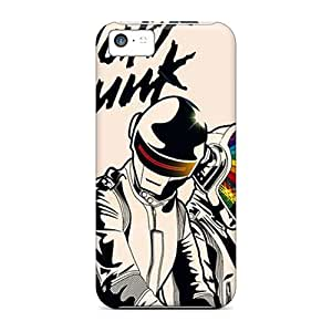 Premium Tpu Daft Punk Cover Skin For Iphone 5c