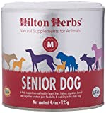 Hilton Herbs Senior Dog Optimum Health Supplement for Older Dogs, 4.4 oz Tub For Sale