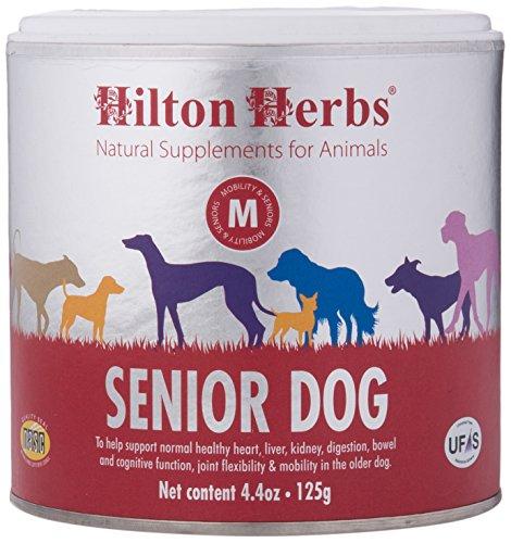 Cheap Hilton Herbs Senior Dog Optimum Health Supplement for Older Dogs, 4.4 oz Tub