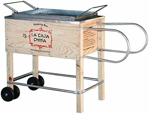 La caja china Cajas Sau # 3 Roasting Caja cerdo Barbacoa: Amazon.es: Jardín