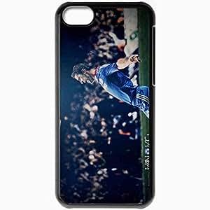 Personalized iPhone 5C Cell phone Case/Cover Skin 2013 amazing branislav ivanovic Black
