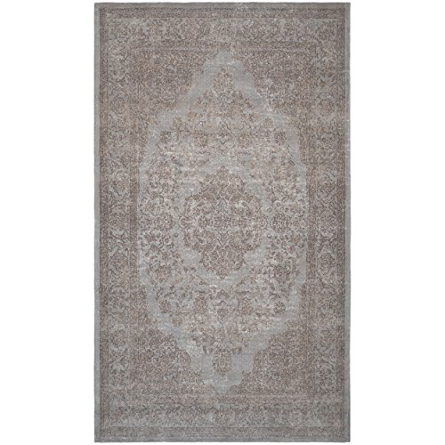 Safavieh Classic Vintage Collection CLV121D Grey Cotton Area Rug (3′ x 5′) Review