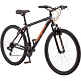 "27.5"" Mongoose Excursion Men's Mountain Bike, Black/Orange"