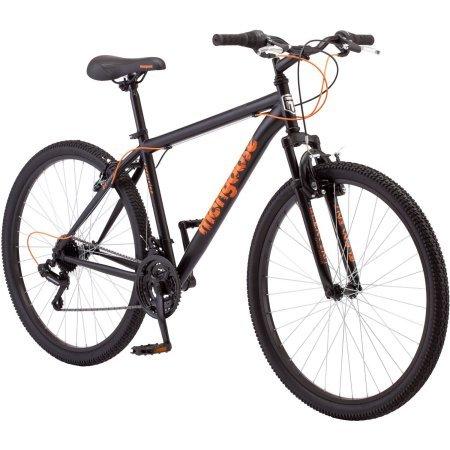 27.5″ Mongoose Excursion Men's Mountain Bike, Black/Orange Review