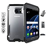 OHOH Hero Series Galaxy S7 Edge Case Superior Protection Force and Impact Resistance Case Retail Package for Galaxy S7 Edge(Black)