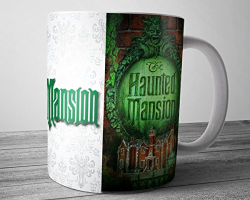 Haunted Mansion Logo Disneyland Ceramic Coffee Mug Tea Cup 11 (Disney Haunted Mansion Halloween)