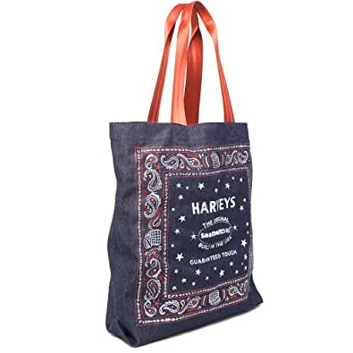 Harveys Seatbelt Canvas Strap Tote Built In The USA, Spangled