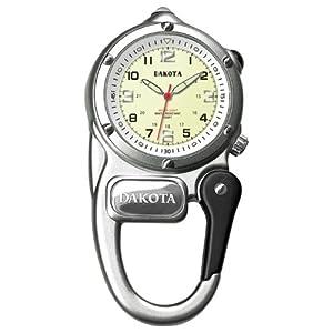 Dakota Mini Clip Watch Silver