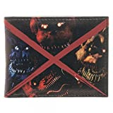 five nights of freddy merchandise - Five Nights At Freddy's Evil Faces Wallet Multicolour