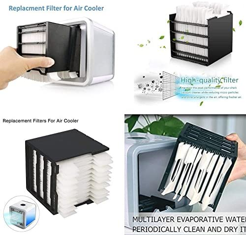 Flyinghedwig Replacement Filter for Personal Space Air Cooler Air Conditioner Replacement Parts