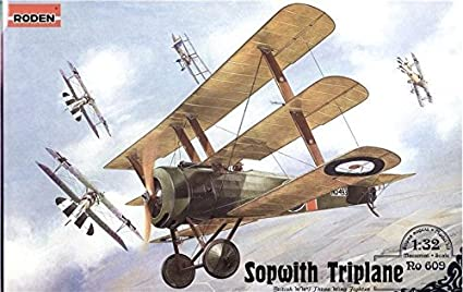 Amazon.com: Sopwith Triplane British Fighter biplane WWI 1 ...