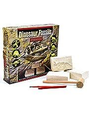 Kit Para Excavar Fósiles de Dinosaurios - Excava 6 Dinosaurios Diferentes