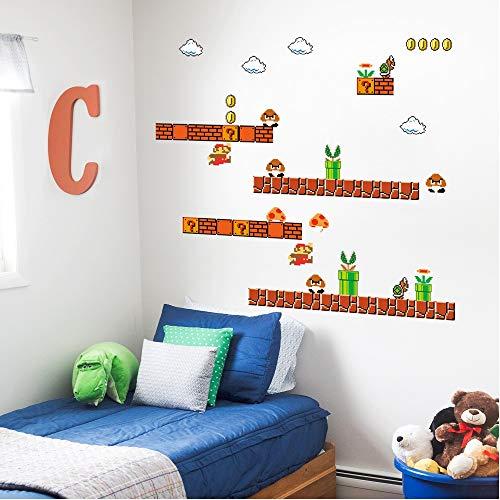 Super Mario Peel Stick Wall Decal