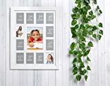 Kate & Milo K - 12 School Picture Frame, Year by
