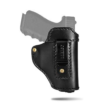 Amazon.com: LIRISY - Funda de piel para pistolas S&W M&P ...