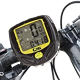 KEWAYO Multi Functions Wireless Cyclocomputer, Waterproof Cycling Bike Odometer Bycicle Speedometer