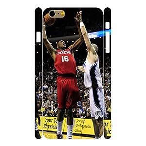 Artistic Elegant Basketball Athlete Pattern Skin for iphone 6 (4.7) Case - Inch