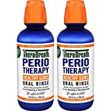 TheraBreath Dentist Formulated PerioTherapy HEALTHY GUMS Oral Rinse, 16.9 Ounce (Pack of 2)