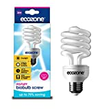 Ecozone Biobulb, Energy-Saving Daylight Bulb, Screw Cap, 25W