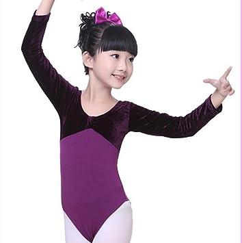 Traje de Cosplay de Traje de Ballet de niña de práctica de ...