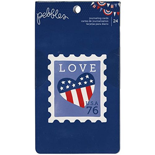Pebbles Americana Journal Cards