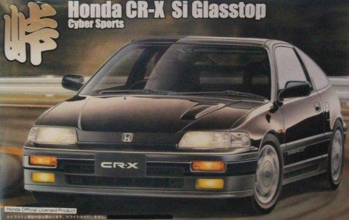 フジミ模型 1/24峠シリーズ35 CR-Xグラストップ