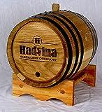 Personalized Engraved White American Oak Aging Barrels RHB135 (20 Liter)