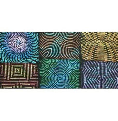 Artist's Paintstiks Rubbing Plates 6/Pkg by CEDAR CANYON TEXTILES INC