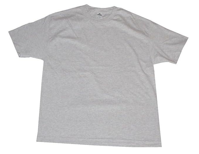 32f078f2f Amazon.com  Alstyle AAA Men s Solid Plain Tshirts T Shirt Medium ...