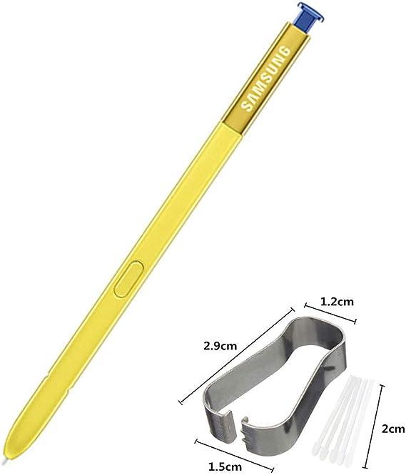 JayTong Bolígrafo S-Pen de Repuesto con Puntas/Plumillas para Galaxy Note 9 Azul (Sin Control de Bluetooth): Amazon.es: Electrónica