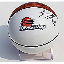 Brittney Griner Signed Phoenix Mercury Mini Logo Basketball w/COA WNBA - Autographed College Basketballs
