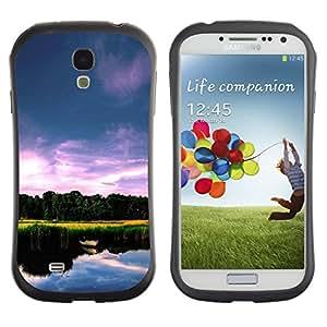 Suave TPU GEL Carcasa Funda Silicona Blando Estuche Caso de protección (para) Samsung Galaxy S4 I9500 / CECELL Phone case / / Nature Beautiful Lake /